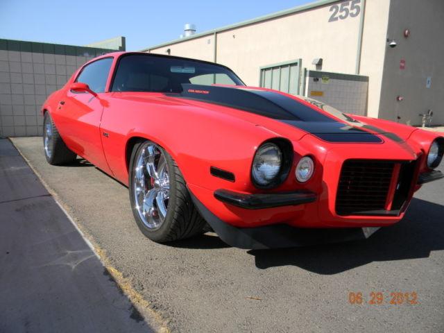 1973 Chevrolet Camaro Custom Pro Touring Viper Red W