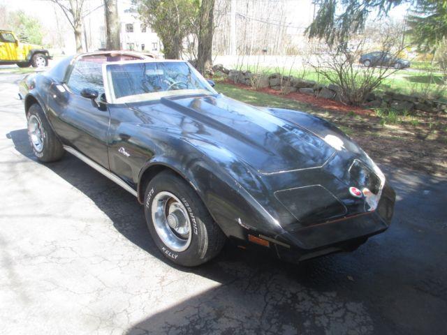 1973 chevy corvette stingray specs