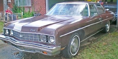 1973 chevrolet impala base sedan 4 door 5 7l for sale in columbus ohio united states. Black Bedroom Furniture Sets. Home Design Ideas