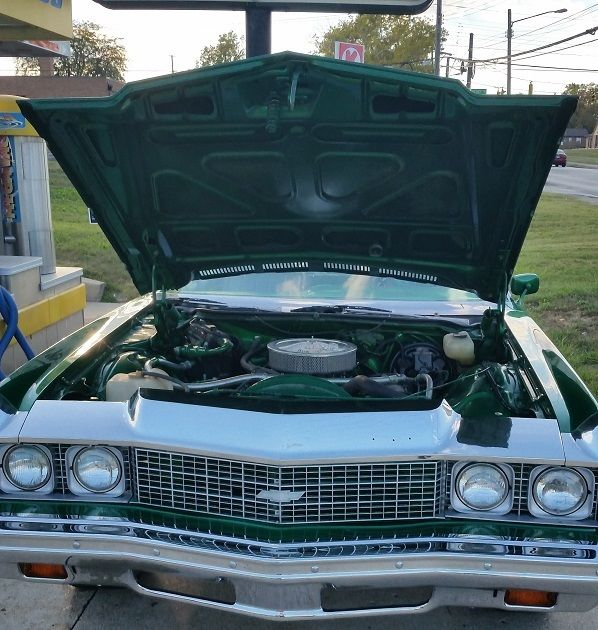 1973 chevrolet impala candy green 26 inch lexani custom stereo interior for sale in. Black Bedroom Furniture Sets. Home Design Ideas