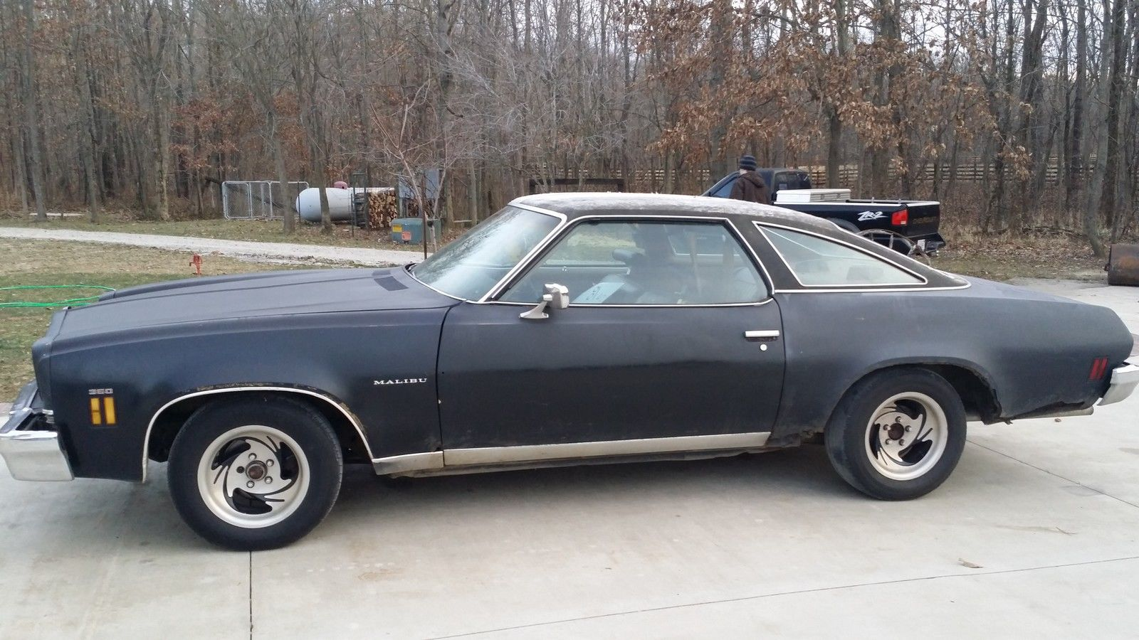 1973 Chevrolet Malibu Base Coupe 2 Door 5 7l For Sale In