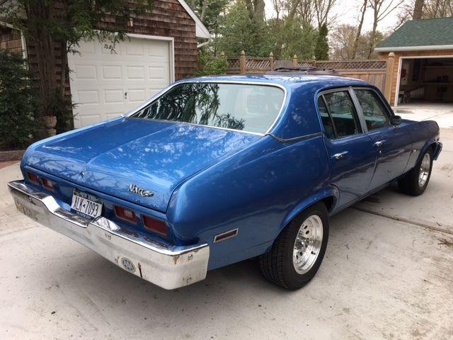 1973 Chevy Nova 4 Door