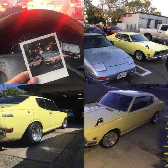 1973 Datsun 610 Yellow RWD Manual 1800 For Sale: Photos
