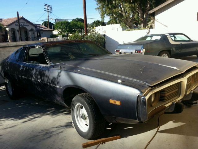1973 Dodge Charger Barn Find California Car Solid
