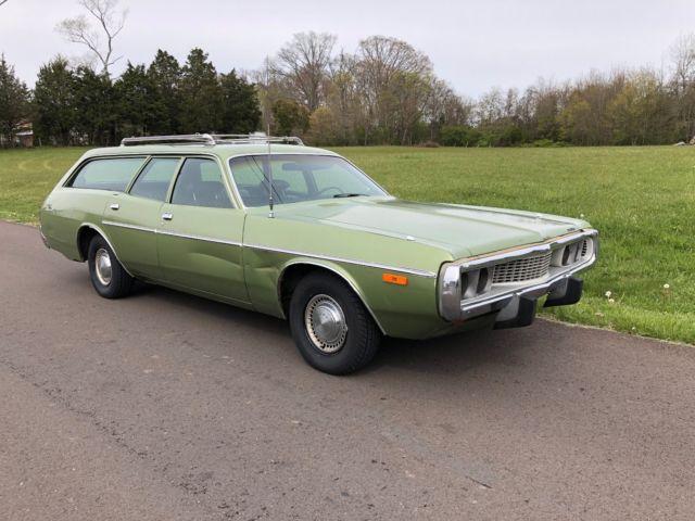 1973 Dodge Coronet 9 Passenger Wagon Charger 1972 1971