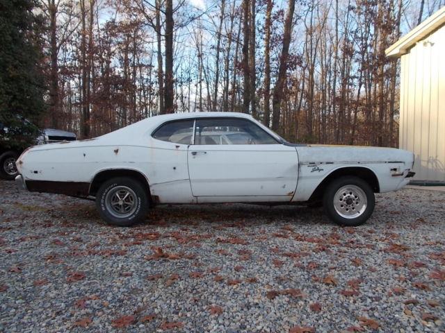 1973 DODGE DART SPORT/DEMON WANNABE ROLLING CHASSIS NICE PROJECT FOR ...