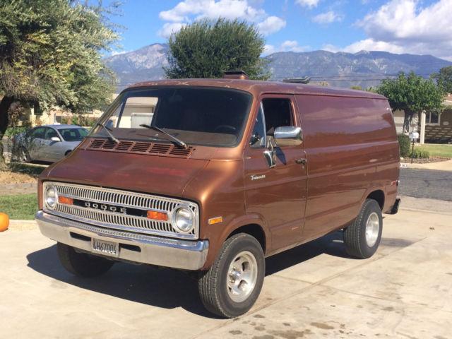 1973 Dodge Tradesman B 100 Van For Sale In Yucaipa