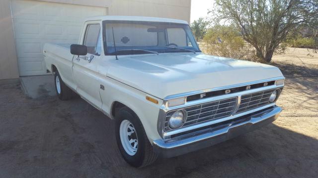 1973 ford f100 custom long bed truck no reserve for sale in glendale arizona united states. Black Bedroom Furniture Sets. Home Design Ideas