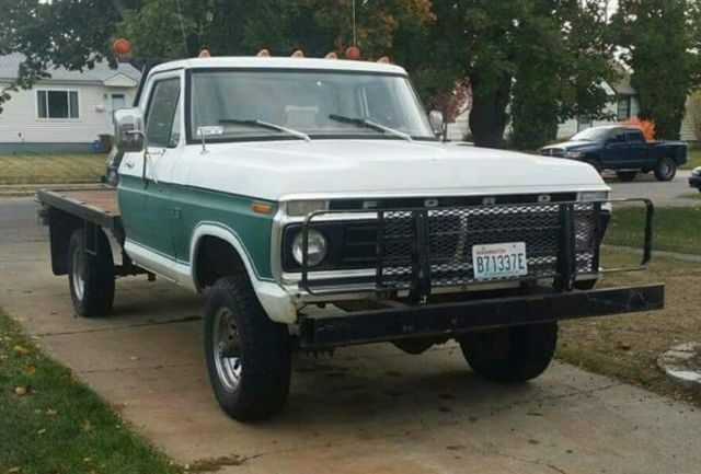 1973 Ford 4x4 Front Axle : Ford f factory highboy for sale in spokane