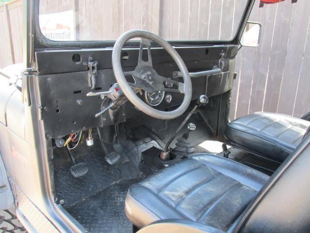 Jeep Cj Speed Manual Transmission Restored Door L