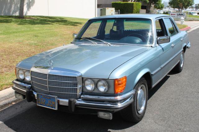 1973 mercedes benz 450se 4 5l v8 4 door sedan no reserve for Mercedes benz v8 sedan