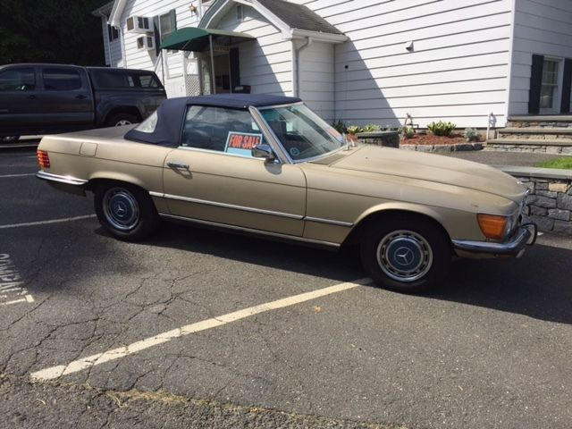1973 mercedes benz 450sl 45 200 original low miles drop for Drop top mercedes benz prices