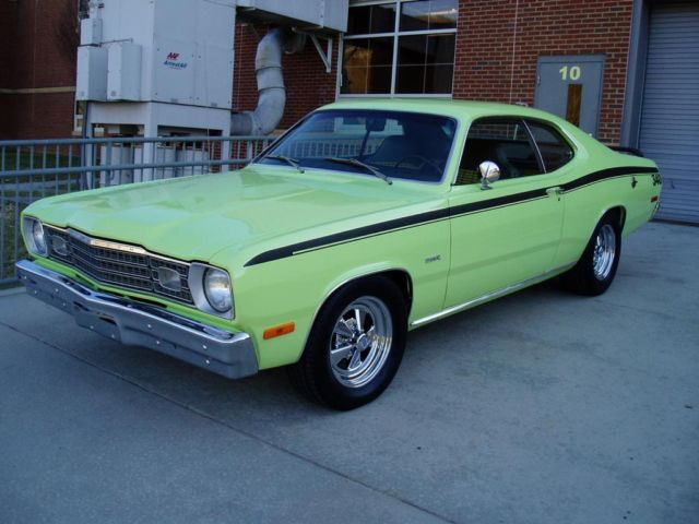 1973 plymouth duster 340 375 4 speed 1 awesome car for sale in shawsville. Black Bedroom Furniture Sets. Home Design Ideas