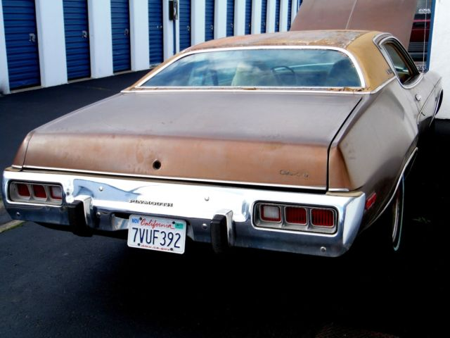 Plymouth Satellite Sebring Mopar Cu Gold Color In Amp Out Runs on 07 Sebring Battery Location