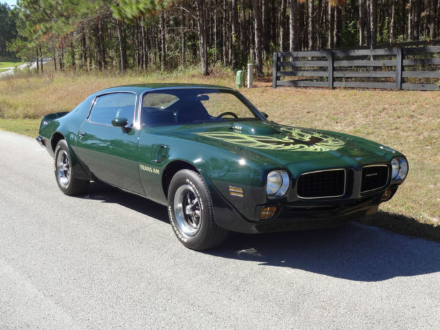 2006 Chevy Impala For Sale >> 1973 Pontiac Trans Am Brewster Green 4-speed for sale in ...