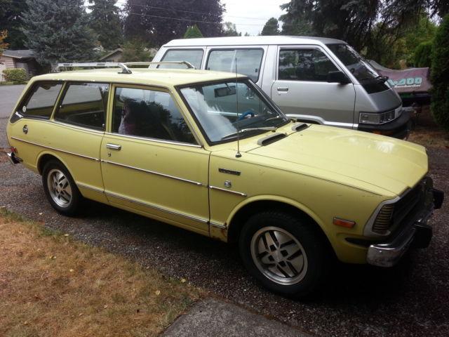 1973 toyota corolla 2 door wagon te28 jdm ke26 te27 te21. Black Bedroom Furniture Sets. Home Design Ideas