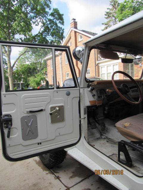 1973 Toyota Fj40 Landcruiser 4wd 2f Engine Pto Hard And