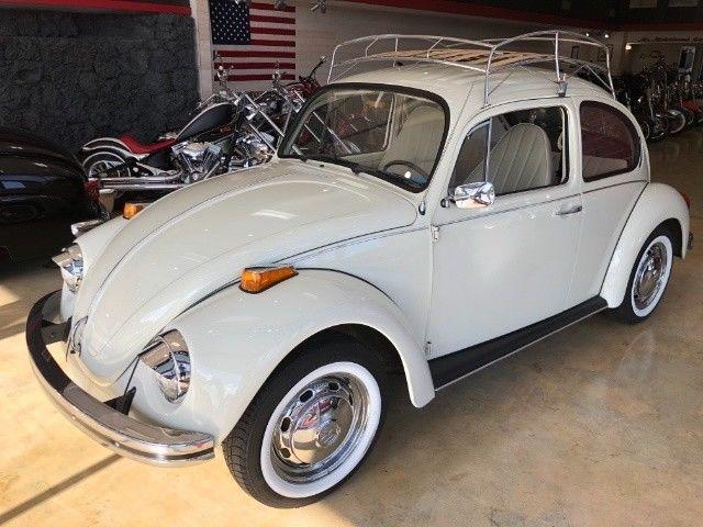 1973 volkswagen beetle classic bug 4 speed manual 4 door coupe. Black Bedroom Furniture Sets. Home Design Ideas