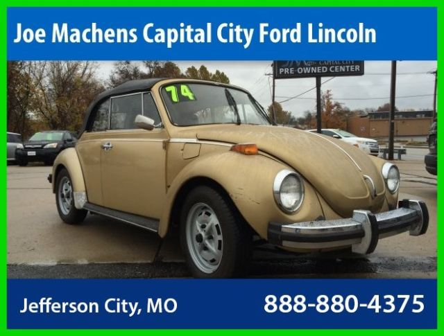 1974 1 8t classic used convertible for sale in jefferson city missouri united states. Black Bedroom Furniture Sets. Home Design Ideas