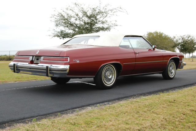 1974 buick lesabre convertible for sale in auburndale for Classic american convertibles for sale