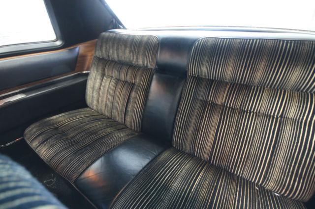 1974 Cadillac Coup Deville Triple Black 472 For Sale
