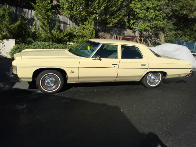 1974 Chevrolet Bel Air For Sale In Charlottesville