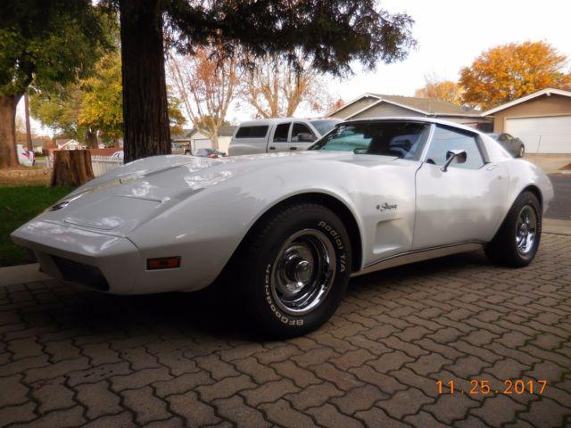 1974 Chevrolet Corvette T Tops A C Car Auto New Paint