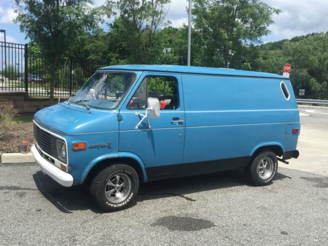 1974 Chevrolet G10 Van Custom Chopper G20 Shorty Cargo Hippie 80K Original