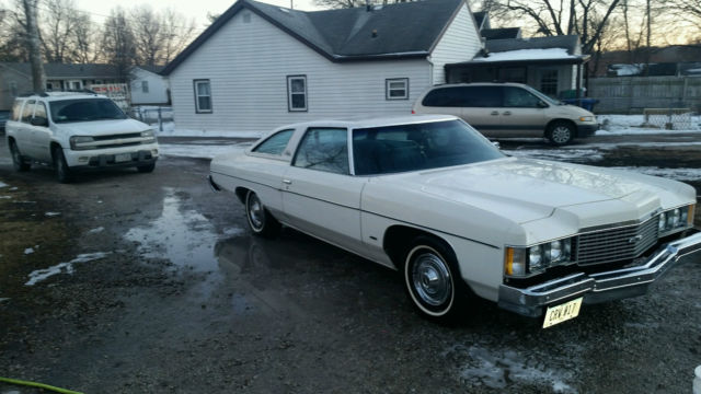 1974 Chevrolet Impala Base Coupe 2 Door 6 6l For Sale In