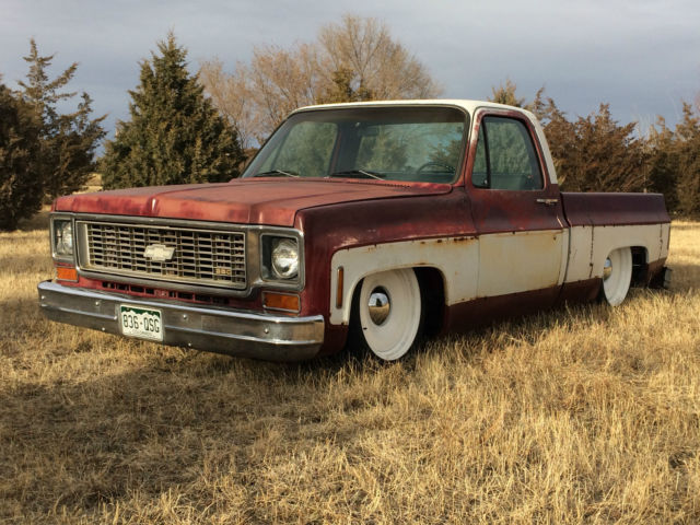1974 chevy c10 truck patina air bagged for sale in peyton colorado united states. Black Bedroom Furniture Sets. Home Design Ideas