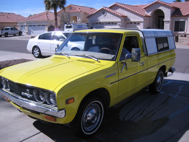 1974 Datsun 620 Pick Up with Bed Topper for sale in Mesa ...