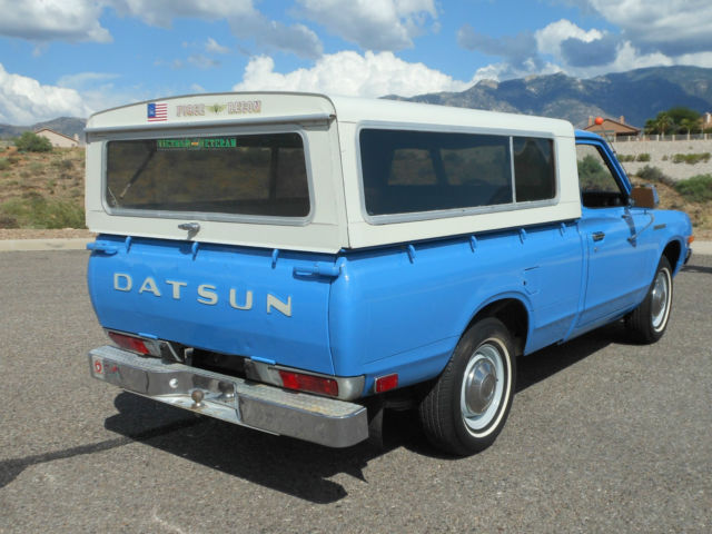 1974 datsun 620 pickup two owners arizona rust free immaculate and original for sale in tucson. Black Bedroom Furniture Sets. Home Design Ideas
