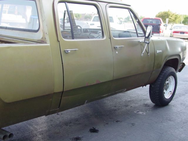 Power Steering Problems >> 1974 Dodge W200 Crew cab short box POWER WAGON!!!! NO RESERVE!!!! for sale: photos, technical ...