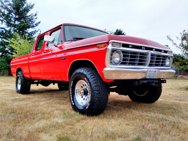 1974 Ford F-250 4x4 Crew Cab Highboy Excellent Condition ...