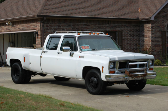 1974 gmc 3500 square body dually chevy silverado truck for sale in arkadelphia arkansas united. Black Bedroom Furniture Sets. Home Design Ideas