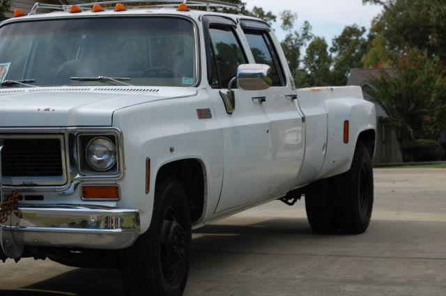 1974 GMC 3500 Square Body Dually Chevy Silverado truck for ...