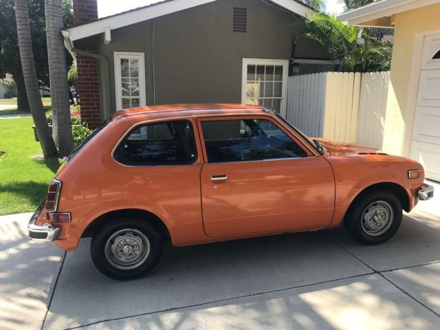 Civic Classic Sedan Black Olx: 1974 Honda Civic Hatchback