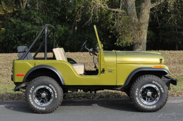 1974 jeep cj5 manual 4x4 inline 6 4 speed manual custom wheels trades welcome for sale in. Black Bedroom Furniture Sets. Home Design Ideas