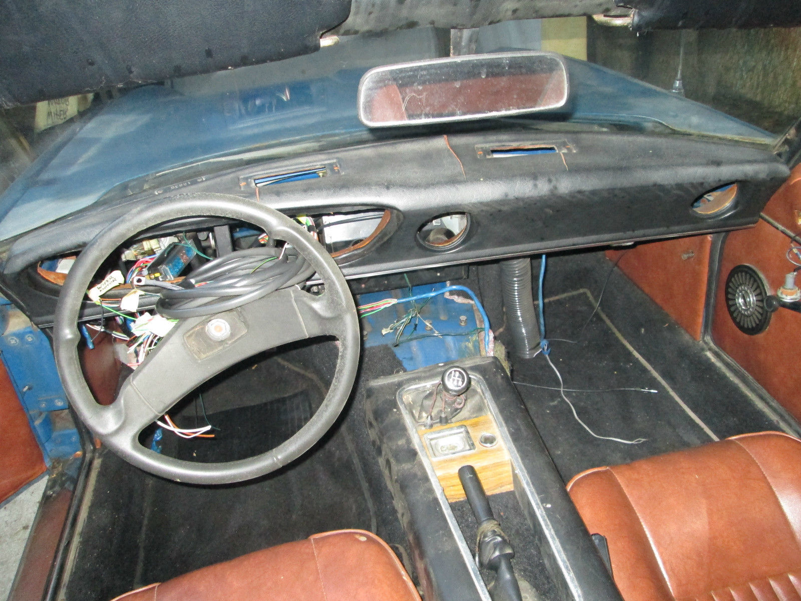 1974 jensen healey roadster rblt engine new interior needs paint dash wire for sale in. Black Bedroom Furniture Sets. Home Design Ideas