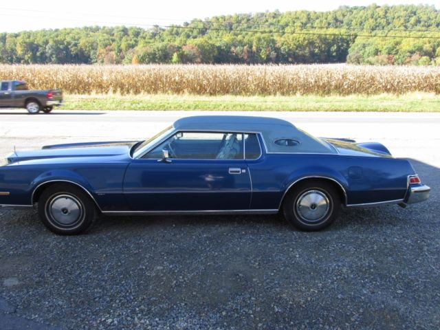 1974 lincoln continental base coupe 2 door 7 5l mark iv for sale in washington new jersey. Black Bedroom Furniture Sets. Home Design Ideas