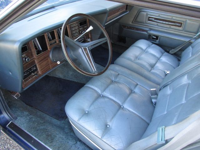 1974 Lincoln Continental Base Coupe 2 Door 7 5l Mark Iv