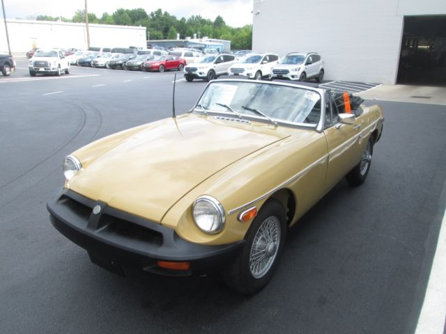 1974 Mg Mgb Iii Rubber 2dr Convertible With Only 80105 Miles