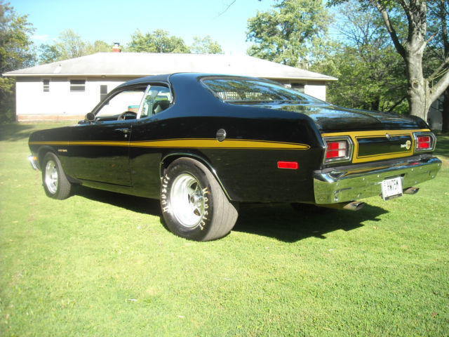 1974 plymouth duster tx9 sunroof for sale in painesville ohio united states. Black Bedroom Furniture Sets. Home Design Ideas