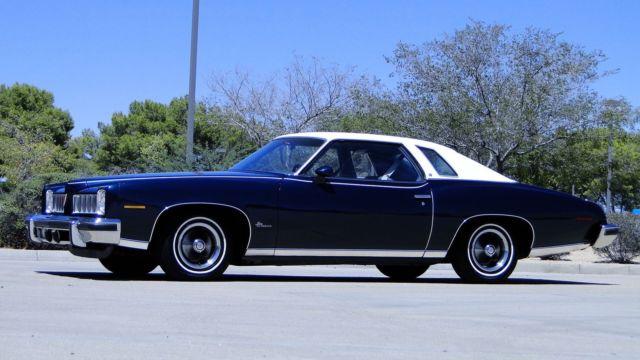 1974 Pontiac Lemans 350 A C 20 000 In Restoration Receipts Car Is Like New