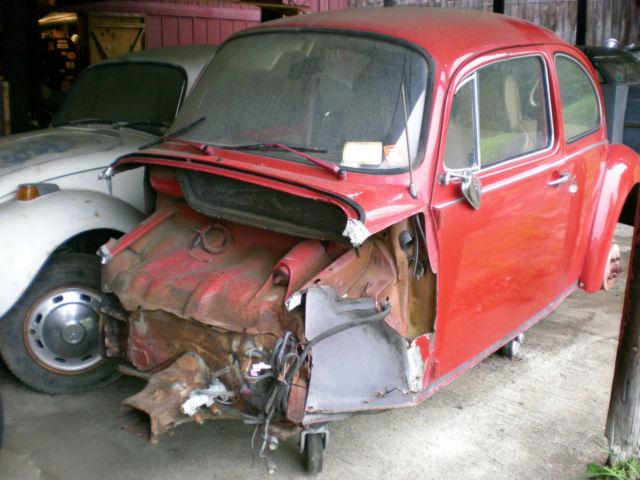 1974 Super Beetle For Parts Or Restoration Rat Rod For