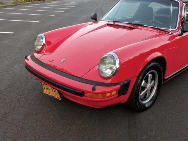 Car Paint Detector >> 1975 911 S EURO model Porsche All Original with Super Low Miles 62,237
