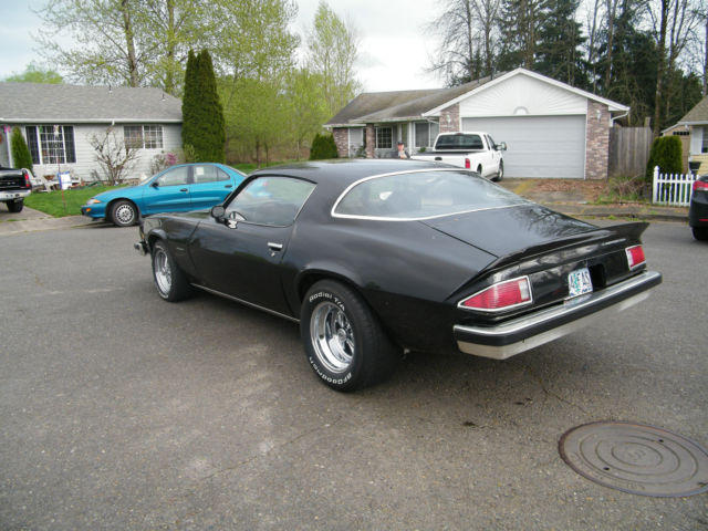 1975 chevrolet camaro lt coupe 2 door 5 7l for sale in. Black Bedroom Furniture Sets. Home Design Ideas