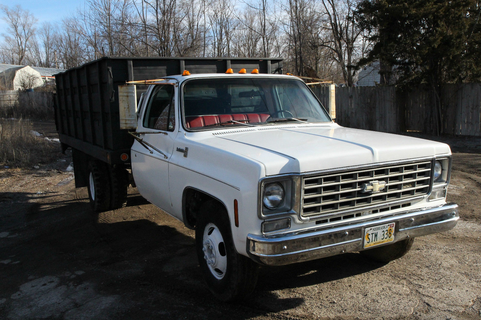 1975 chevy 1 ton dump truck w hydraulic tommy lift runs great 58k miles for sale in council. Black Bedroom Furniture Sets. Home Design Ideas
