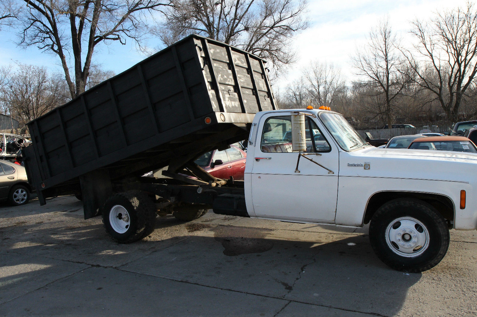 1975 Chevy 1 Ton Dump Truck W Hydraulic Tommy Lift Runs Great 58k Miles For Sale In Council Bluffs Iowa United States For Sale Photos Technical Specifications Description