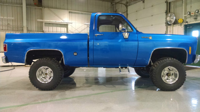 1975 Chevy 4X4 Four Wheel Drive C15 Pickup Truck Scotsdale